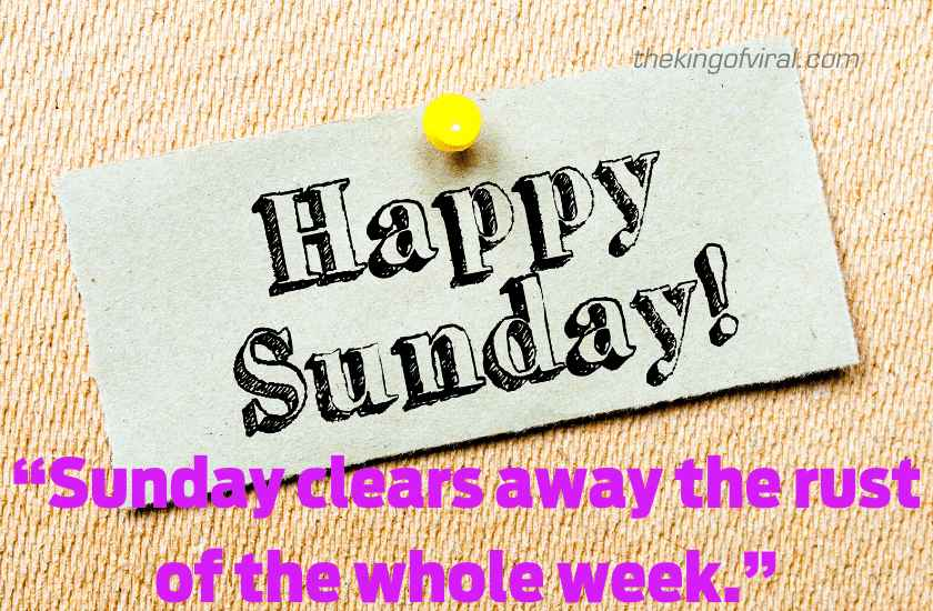 Happy sunday wishes quotes image