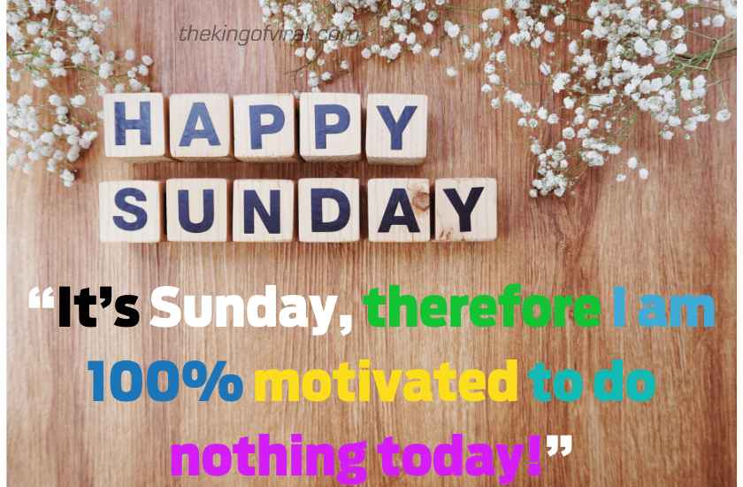 Happy sunday wishes sms images